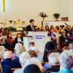 Mayor Buttigieg speaks at Faith in Indiana Peacemaker Summit