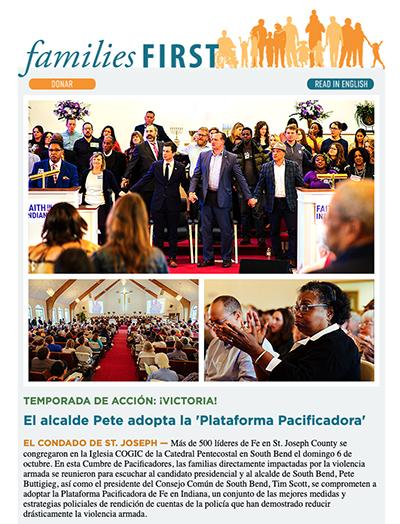 October e-news cover, Spanish