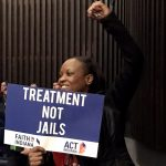 Treatment Not Jails poster